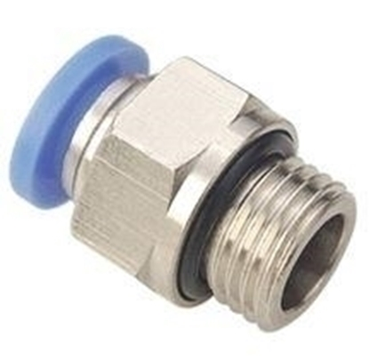 "Picture of VAC 1/2"" Male Connector PC 8-04"