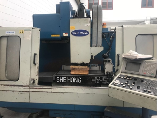 Picture of Vmc She Hong HV 50 with 4 axis