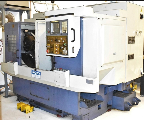 Picture of TWIN TURRET TURNING CENTER HWACHEON TWIN SPINDLE